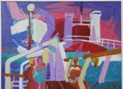Auf dem Schiff Ancerville 1968