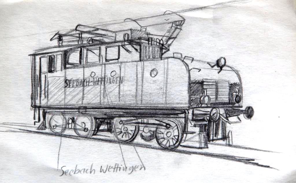 Eisenbahn Skizze