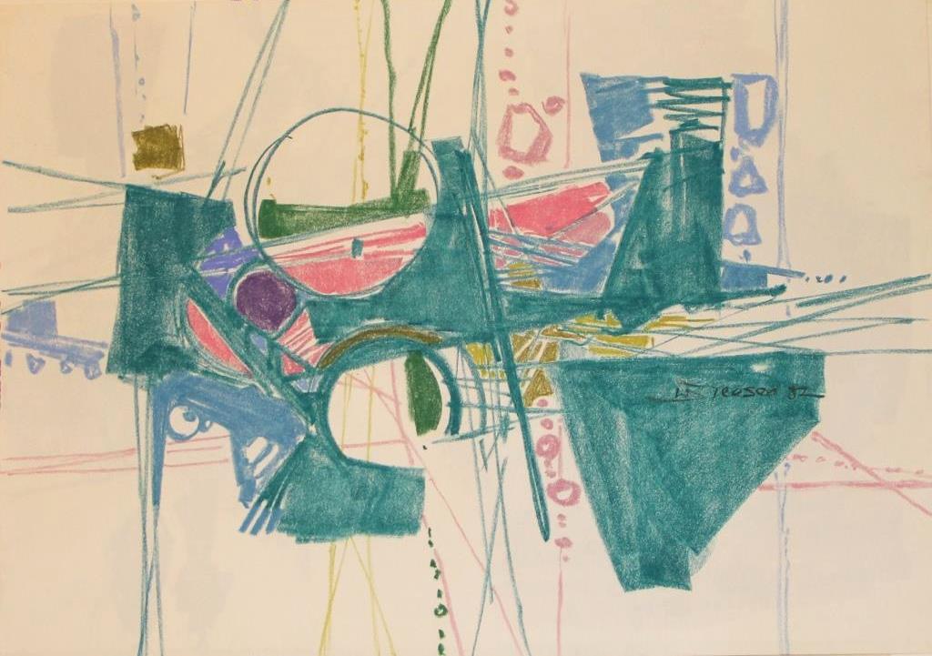 Pastellkonstruktion 1987