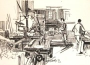 Schreinerei Studer in Glis 1968