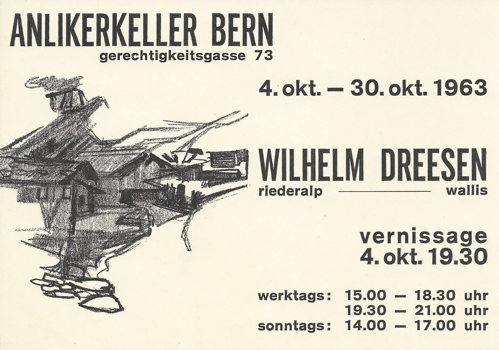 Anlikerkeller Bern 1963