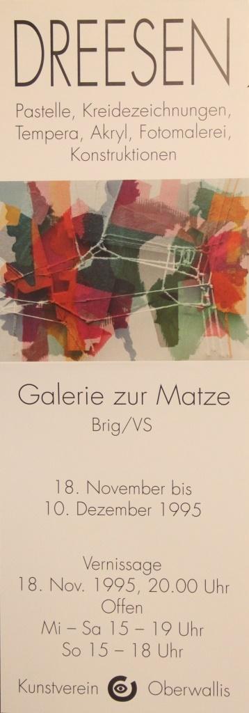 Galerie zur Matze Brig 1995