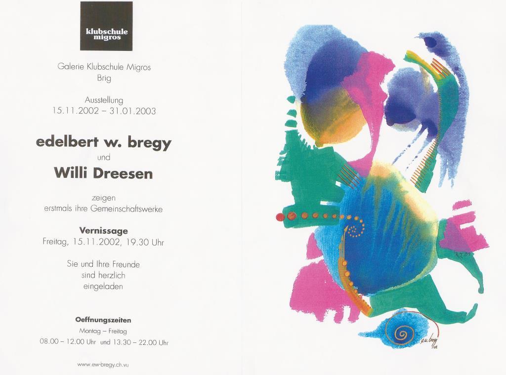 Dreesen / Bregy 2003