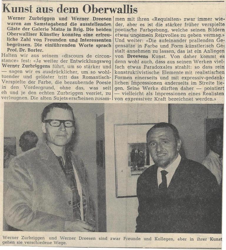 Zur Matze 12.Juni 1967