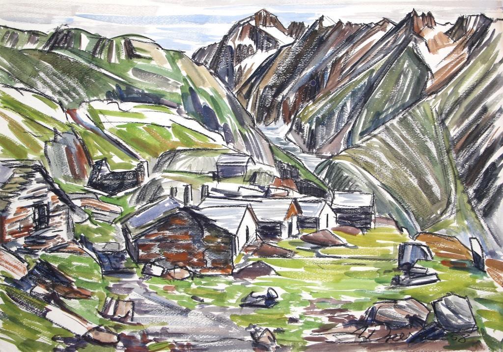 Anfänge im Wallis 1956