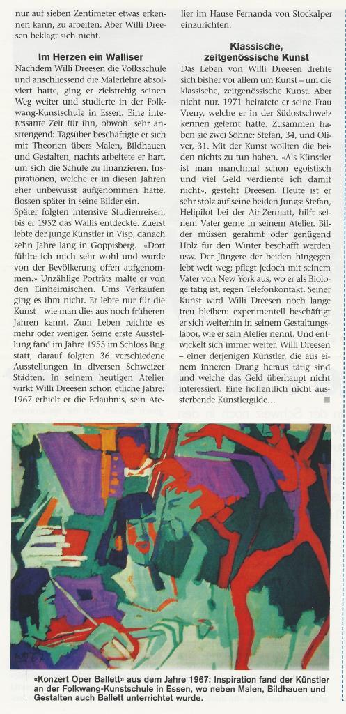 Willi Dreesen im WB Extra 2005 Teil 2