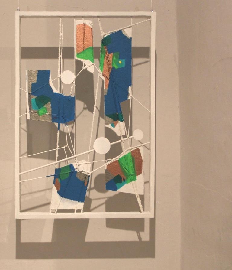 Holz / Seilkonstruktion 1995